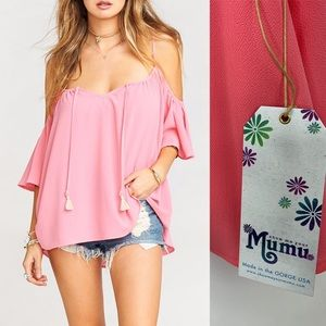 NWT Show Me Your MuMu Lolla Top Size XL Pink